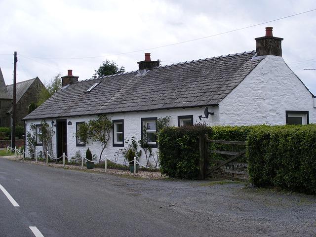 maison de campagne isolée